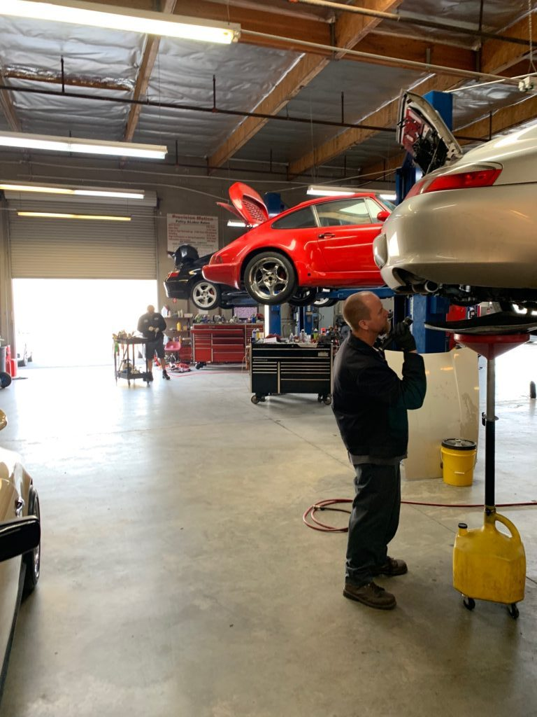 Precision Motion Porsche Service and Repair Riverside California